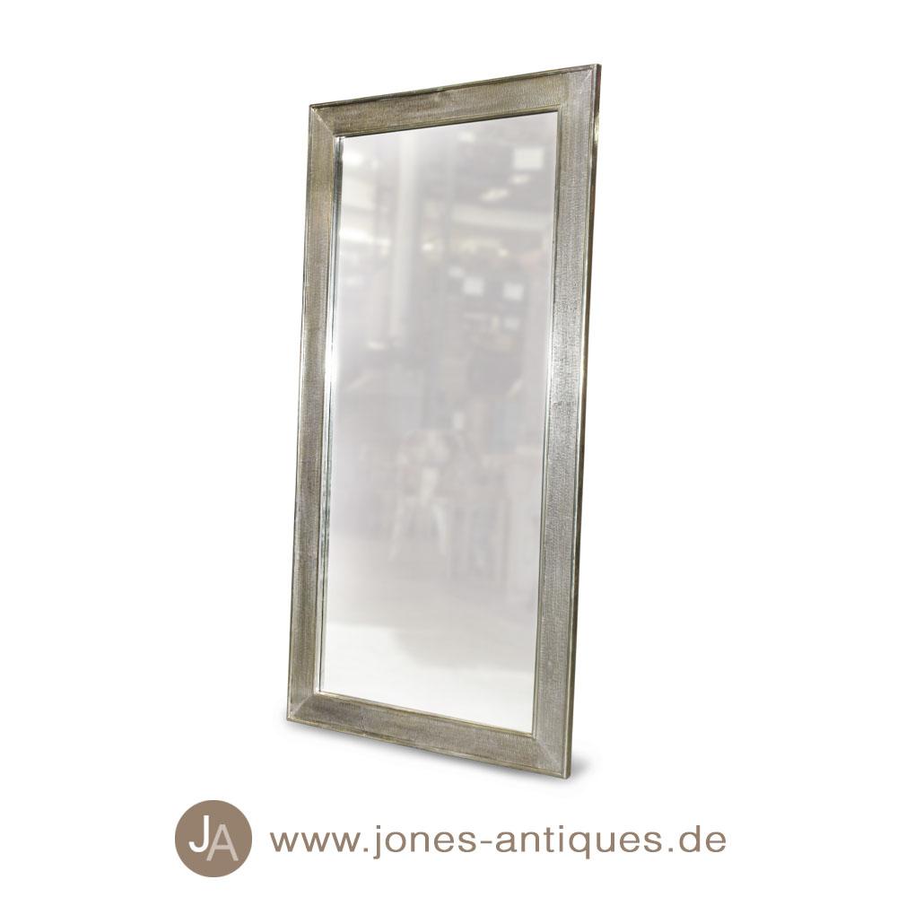 edler spiegel mit breitem rahmen silber verschiedene gr en. Black Bedroom Furniture Sets. Home Design Ideas