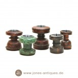Wooden candlesticks with a special past