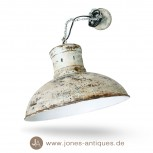 Pendant lamp turquoise in industrial design of iron with chain - electrified