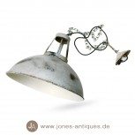 Ceiling lamp in industrial design of iron with chain - electrified