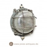 Old metal ship's lamp - handmade originals